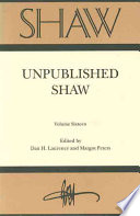 Unpublished Shaw Book PDF