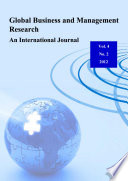 Global Business and Management Research   An International Journal Vol  4  No  2 Book