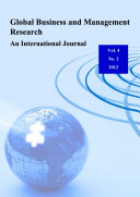 Global Business and Management Research   An International Journal Vol  4  No  2