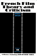 French Film Theory and Criticism