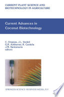 Current Advances in Coconut Biotechnology