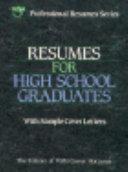 Resumes for high school graduates