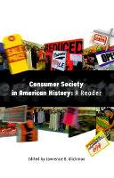 Consumer Society in American History