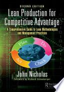Lean Production for Competitive Advantage Book