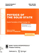 Physics of the Solid State Book