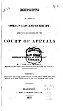 Reports of Civil and Criminal Cases Decided by the Court of Appeals of Kentucky  1785 1951