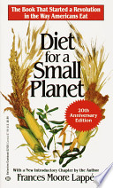Diet for a Small Planet  20th Anniversary Edition  Book