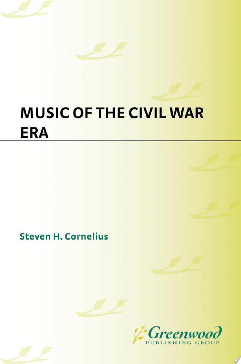 Music of the Civil War Era banner backdrop