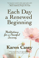 Each Day a Renewed Beginning Book PDF
