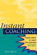 Instant Coaching
