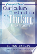 Concept Based Curriculum And Instruction For The Thinking Classroom Book PDF