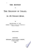 The History of the Religion of Israel Book
