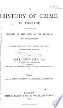 A History of Crime in England