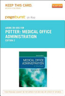 Medical Office Administration Pageburst On Kno Retail Access Code