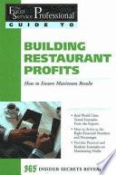 Building Restaurant Profits Book