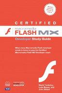 Certified Macromedia Flash Mx Developer Study Guide Book PDF