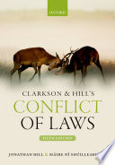 Clarkson And Hill S Conflict Of Laws
