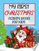 My First Christmas Activity Books For Kids