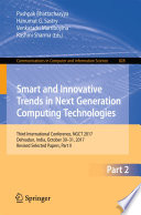 Smart and Innovative Trends in Next Generation Computing Technologies Book