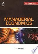 Managerial Economics  GBTU  Book