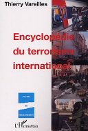 ENCYCLOPÉDIE DU TERRORISME INTERNATIONAL Pdf/ePub eBook