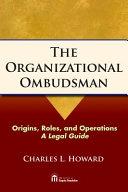 Pdf The Organizational Ombudsman