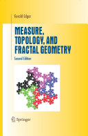 Measure, Topology, and Fractal Geometry