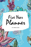 5 Year Planner   2020 2024  6x9 Softcover Monthly Planner