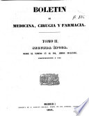 Boletín de medicina, cirugía y farmacia  , Band 2,Ausgaben 53-104