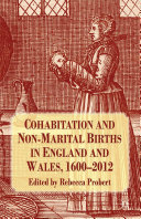 Cohabitation and Non-Marital Births in England and Wales, 1600-2012 [Pdf/ePub] eBook