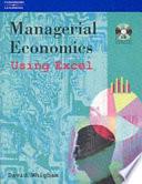 Managerial Economics Using Excel