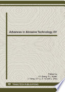 Advances in Abrasive Technology XV Book