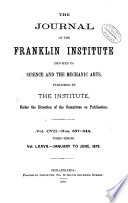Read Online Journal of the Franklin Institute Epub
