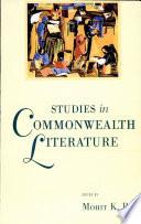 Studies In Commonwealth Literature