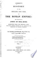 History of the Decline and Fall of the Roman Empire for the Use of Families and Young Persons