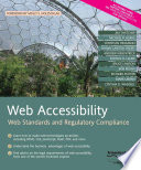 Web Accessibility  : Web Standards and Regulatory Compliance