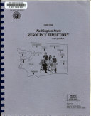 Washington State Resource Directory for Offenders
