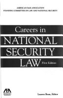 Careers in National Security Law
