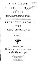 A Select Collection of the Best Modern English Plays ebook