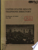 United States Senate Telephone Directory
