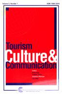 Pdf Tourism, Culture & Communication
