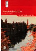 World Habitat Day  1 October 2007