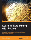 Pdf Learning Data Mining with Python