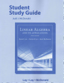 Student Study Guide for Linear Algebra and Its Applications