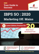 IBPS SO Marketing Officer Complete Study Material Kit (Pre & Mains + Sectional) ebook