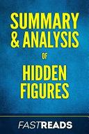 Summary   Analysis of Hidden Figures Book