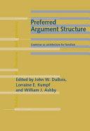 Preferred Argument Structure