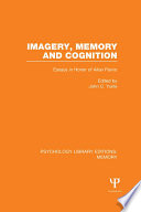 Imagery Memory And Cognition Ple Memory