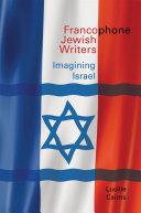 Francophone Jewish Writers Pdf/ePub eBook