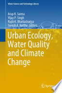 Urban Ecology  Water Quality and Climate Change Book